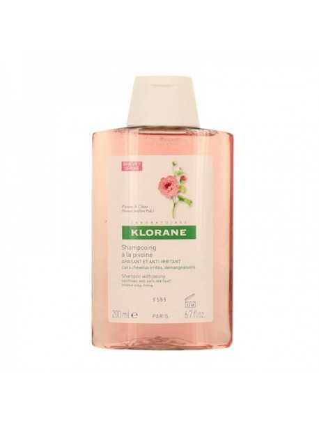 Klorane Shampooing Pivoine 200 ml-Shampo për lëkura të ndjeshme dhe të irrituara