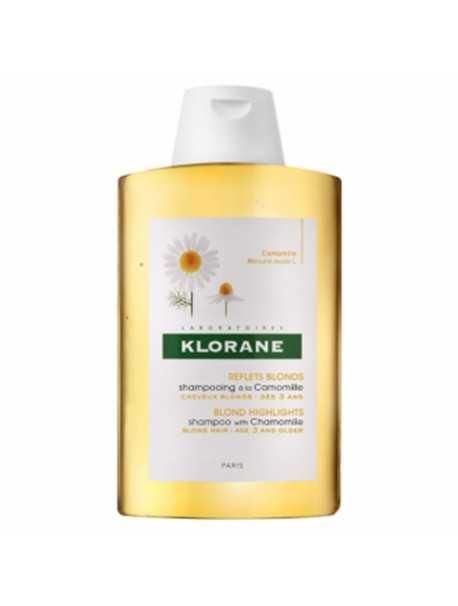 Klorane Shampooing Camomille -Shampo me kamomil për flokë biondë