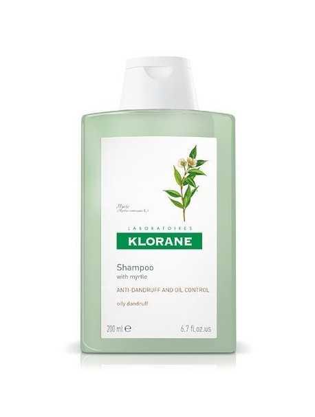 Klorane Anti-Dundruft Shampoo with Myrtle-Shampo kundër zbokthit të yndyrshëm