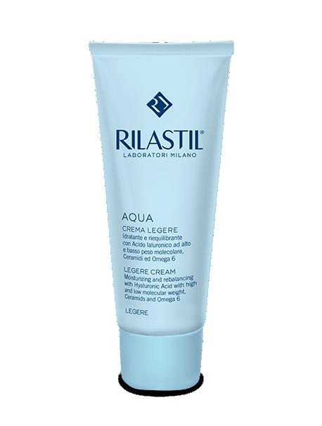 Rilastil Aqua Light Cream-Emulsion ushqyes & hidratues për lëkurë normale në mikse